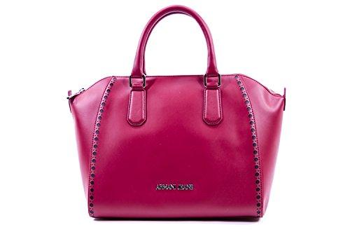 ARMANI JEANS donna borsa top handle 922059 6A715 00176 BORDEAUX UNICA Bordeaux