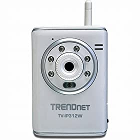 TRENDnet TV-IP312W Wireless Day/Night Internet Camera Server with 2-Way Audio