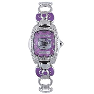 Hello Kitty CT.7105LS-03M Stainless Steel Purple Watch