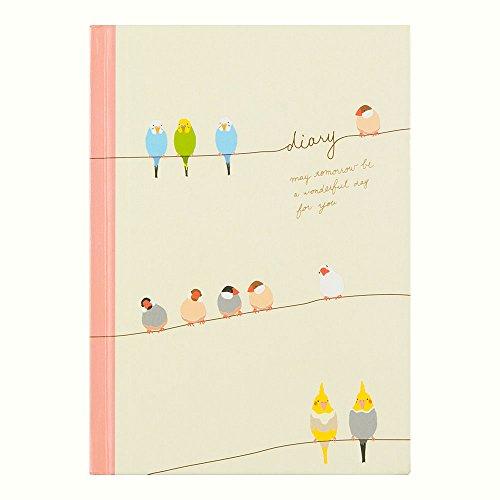 ミドリ 日記 小鳥柄