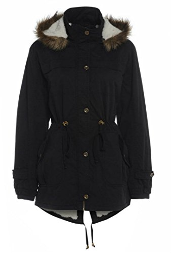 BETTY KAY LONDON -  Cappotto  - Parka - Donna nero 44