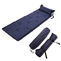 7Trees Inflatable Air Pad Sleeping Bed for Camping Hiking Outdoor Backpacking Trips
