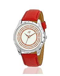 Yepme Jiyan Mens Watch - White/Red -- YPMWATCH2094