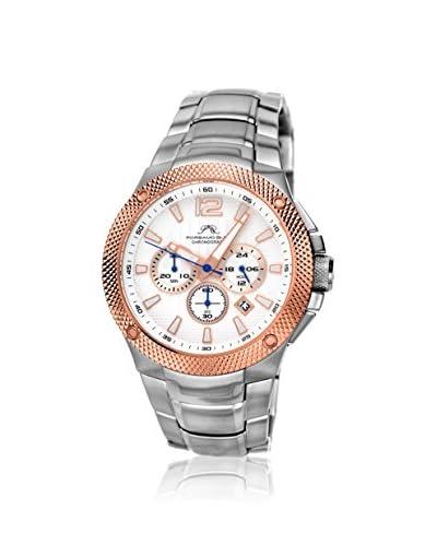 Porsamo Bleu Men's 251CPIS Pierre White Stainless Steel Watch