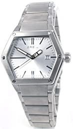 Breil Men's Mark Quartz Watch TW0654 with Silver Analogue Dial, Date, Stainless Steel Case And Bracelet