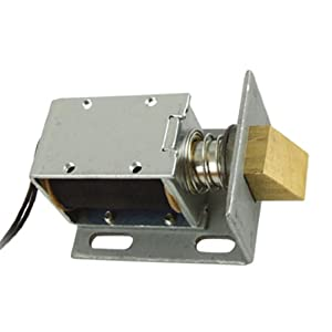 Amico dc 12v open frame type solenoid for for 12v door latch