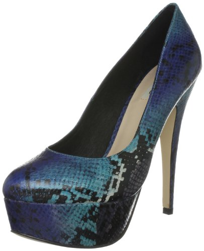 Dune Women's Heighten Blue Heels 83505410005041 5 UK