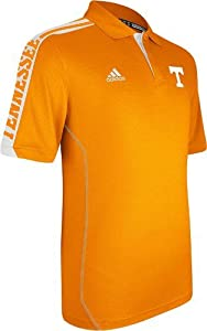 Tennessee Volunteers Adidas 2012 Sideline Swagger Orange Performance Polo Shirt by adidas