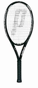 Prince O3 Silver OS Prestrung Tennis Racquet (4 1/4)