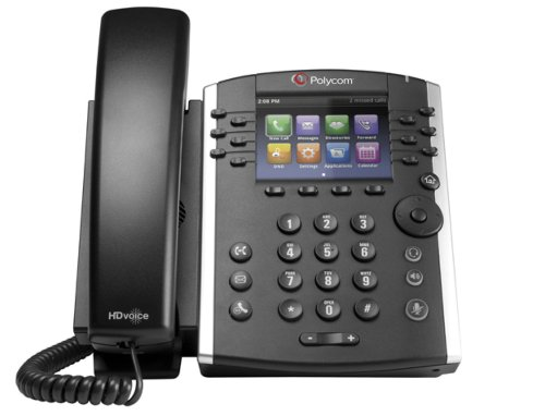 Polycom VVX400 HD Voice Media Telephone - Black Reviews