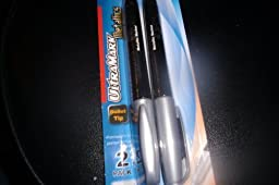 Ultremax Metallic Markers 2 Pack (Bullet Tip) by max pen