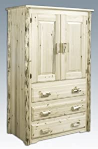 Montana Woodworks Armoire Unfinished