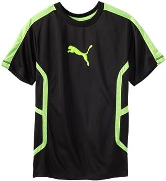 Puma Big Boys 39 Extreme T Shirt Black Small