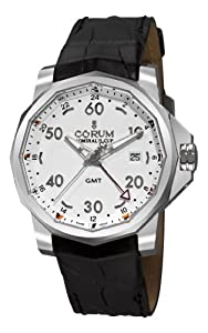 Corum Men's 38333020/0F81AA Admirals Cup GMT 44 White Dial Watch from CAPTAIN MOD