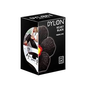 Dylon Machine Dye Velvet Black 200 g (Pack of 3)