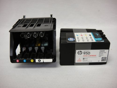 HP Officejet pro 8600 Genuine printhead with Set up Cartridges - HP 950 951 genuine printhead (Hp Printer Head 8600 compare prices)
