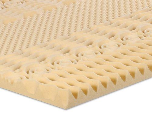 Serenia 2-Inch 7-Zone Memory Foam Topper, Twin