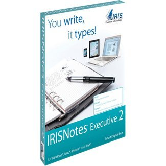41JUGWLxbEL. SL500  I.R.I.S. IRISNotes 2 Executive Digital Pen   Windows, Macintosh  &  iOS
