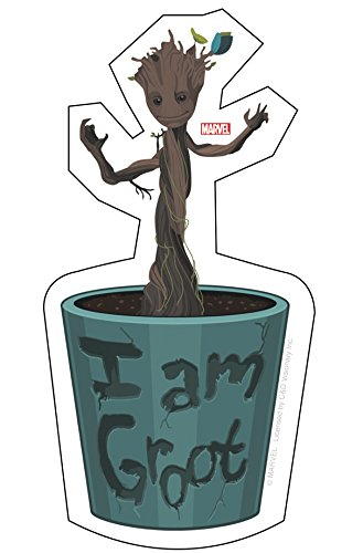 C&D Visionary Guardians of The Galaxy Movie Baby Groot Sticker