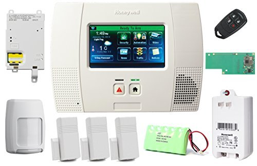 Honeywell Lynx Touch L5200 Security Alarm Kit with Cellular Communicator and Zwave Module (Honeywell L5200 Camera compare prices)