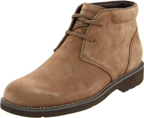 Rockport Men's Ridge Valley Desert Boot Vicuna Suede Lace Up Boot K58796  9.5 UK , 44 EU , 10 US