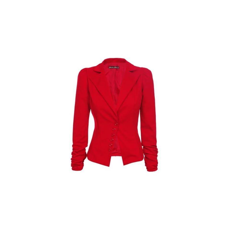 bc0813124ea9 Laeticia Dreams Damen Blazer Business Casual Freizeizblazer Jacke XS S M L  Neu Bekleidung