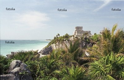 "Wallmonkeys Peel and Stick Wall Decals - Tulum, Quintana Roo, Mexiko - 60""W x 39""H Removable Graphic"