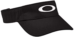 Oakley Hut Golf Ellipse Visor - Gorro, color negro, talla DE: única
