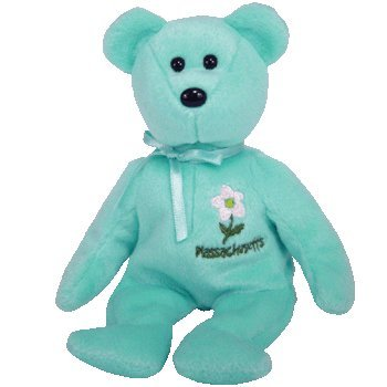 TY Beanie Baby - MASSACHUSETTS MAYFLOWER the Bear (Show Exclusive)