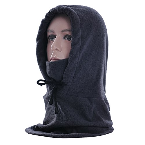 Rancco® Warm Multi-Purpose Full Face and Neck Warm Fleece Tactical Heavyweight Balaclava