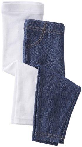 Carter'S Girls' 2 Pack Capri Jeggings (Toddler/Kids) - Blue/White - 2T front-1024888