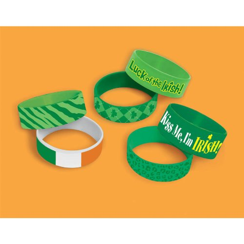 st. pats cuff bands favor pk