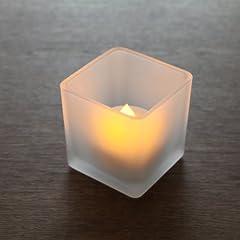 WY LEDキャンドル 角型