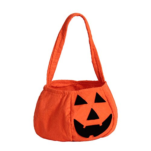 ZOEREA Halloween Pumpkin Bag Kids Candy Bag for Halloween Party Costumes