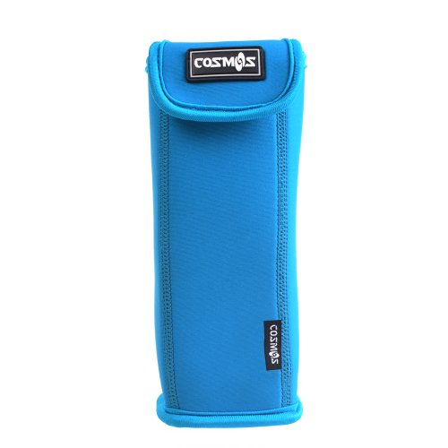 Cosmos ® Light Blue Color Soft Neoprene Sleeve Carrying Travel Case For Soundlink Mini Bluetooth Speaker