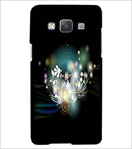 PrintDhaba Flowers D-2282 Back Case Cover for SAMSUNG GALAXY A5 (Multi-Coloured)