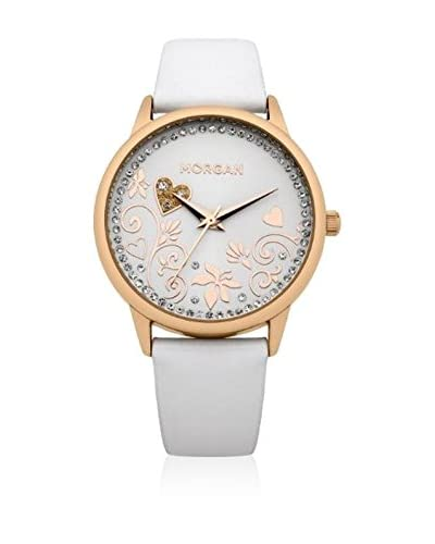Morgan de Toi Reloj de cuarzo Woman M1130Wrg Blanco 36 mm