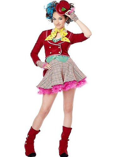 California Costumes Mad As A Hatter Tween Costume, Large