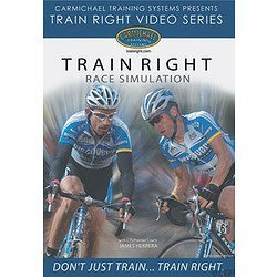 Carmichael Race Simulation DVD Video