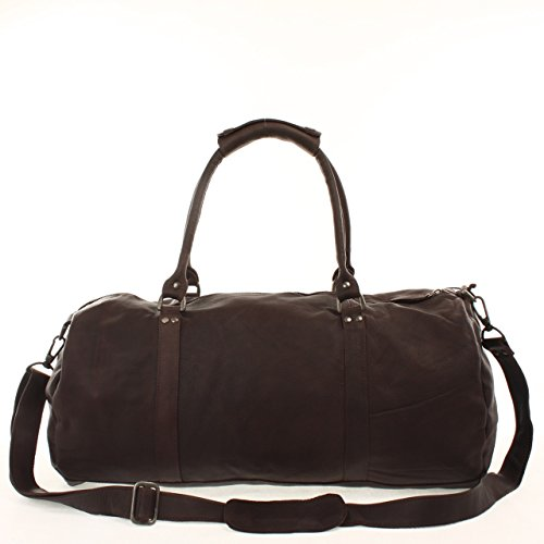 JoeBo Leather Holdall Weekend Leisure Sports Bag JB2004