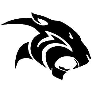 Amazon.com - Wildcat Tribal Jaguar Decal Sticker (black