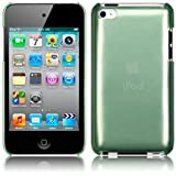 iPod Touch 4 4G 4th Generation Green Sleek Slim Crystal Back Case Cover From Keep Talking iPod Touch 4G Accessoriesby The Keep Talking Shop