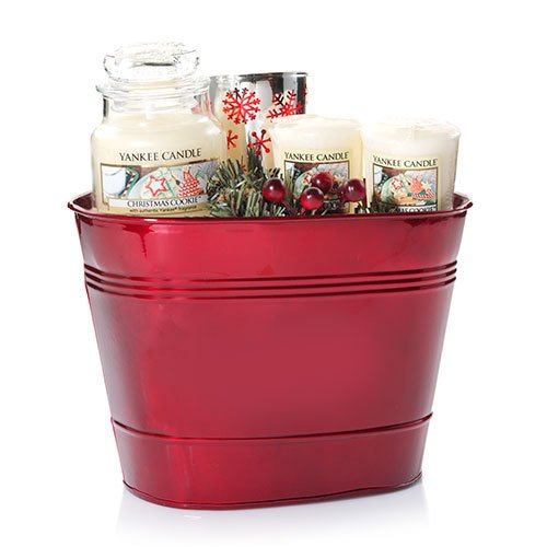 Yankee Candle Company Christmas Cookie Gift Basket (Candle Basket compare prices)