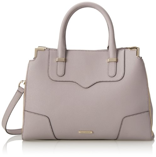 rebecca minkoff amorous satchel top handle bag tortora one size