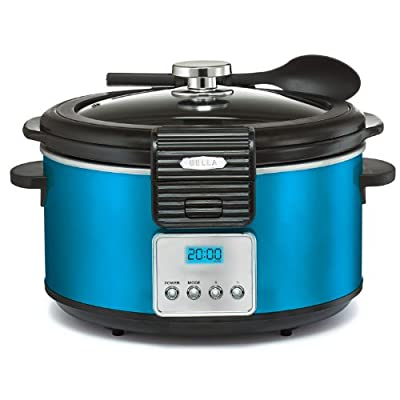 Bella Linea Collection 5qt Programmable Slow Cooker