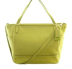 Coach Saffiano Leather Baby Diaper Bag Tote Saffron 26353 by Coach