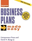 Business Plans Made Easy (Entrepreneur Made Easy Series)