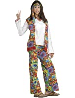 Forum Hippie Dippie Chick Woman's 60's Costume