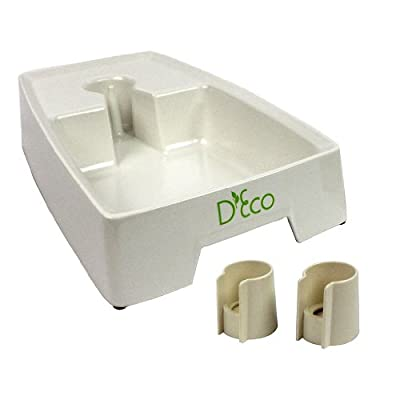 Pet Automatic Travel Water Drinking Fountain Bowl by D'Eco