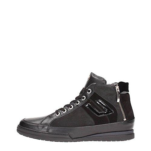 4US CESARE PACIOTTI MMGU6 Sneakers Uomo Pelle Nero/Antracite Nero/Antracite 39